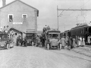 Estación de Liédena. Fondo APG