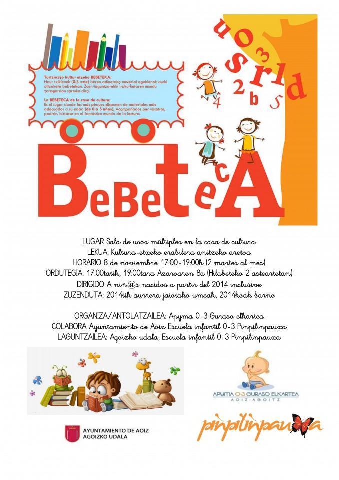 cartel bebeteca